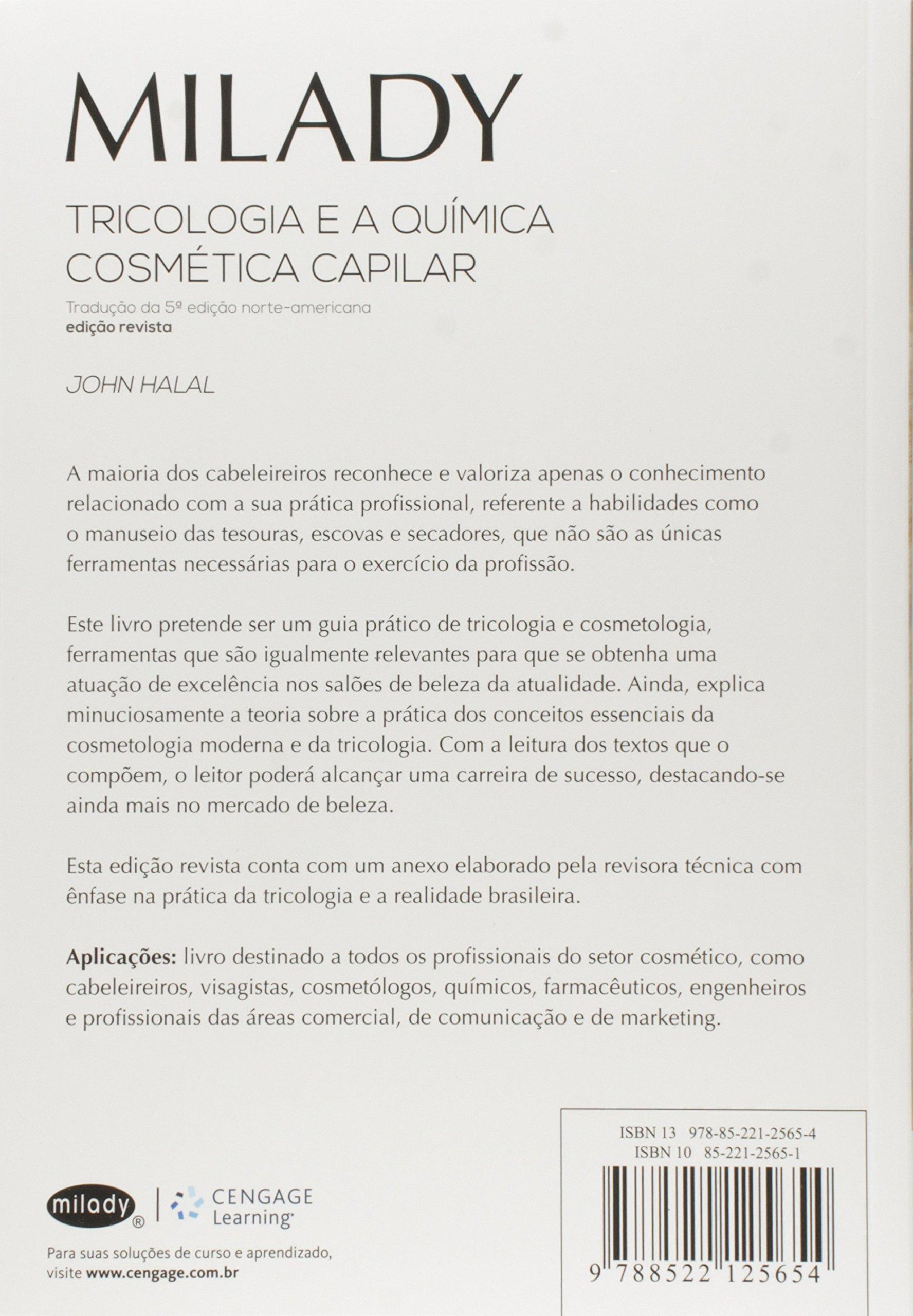 Tricologia e a Química Cosmética Capilar (Em Portuguese do Brasil): John Halal: 9788522125654: Amazon.com: Books
