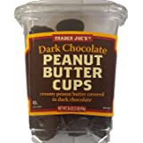 Trader Joe's Dark Chocolate Peanut Butter Cups 16 oz