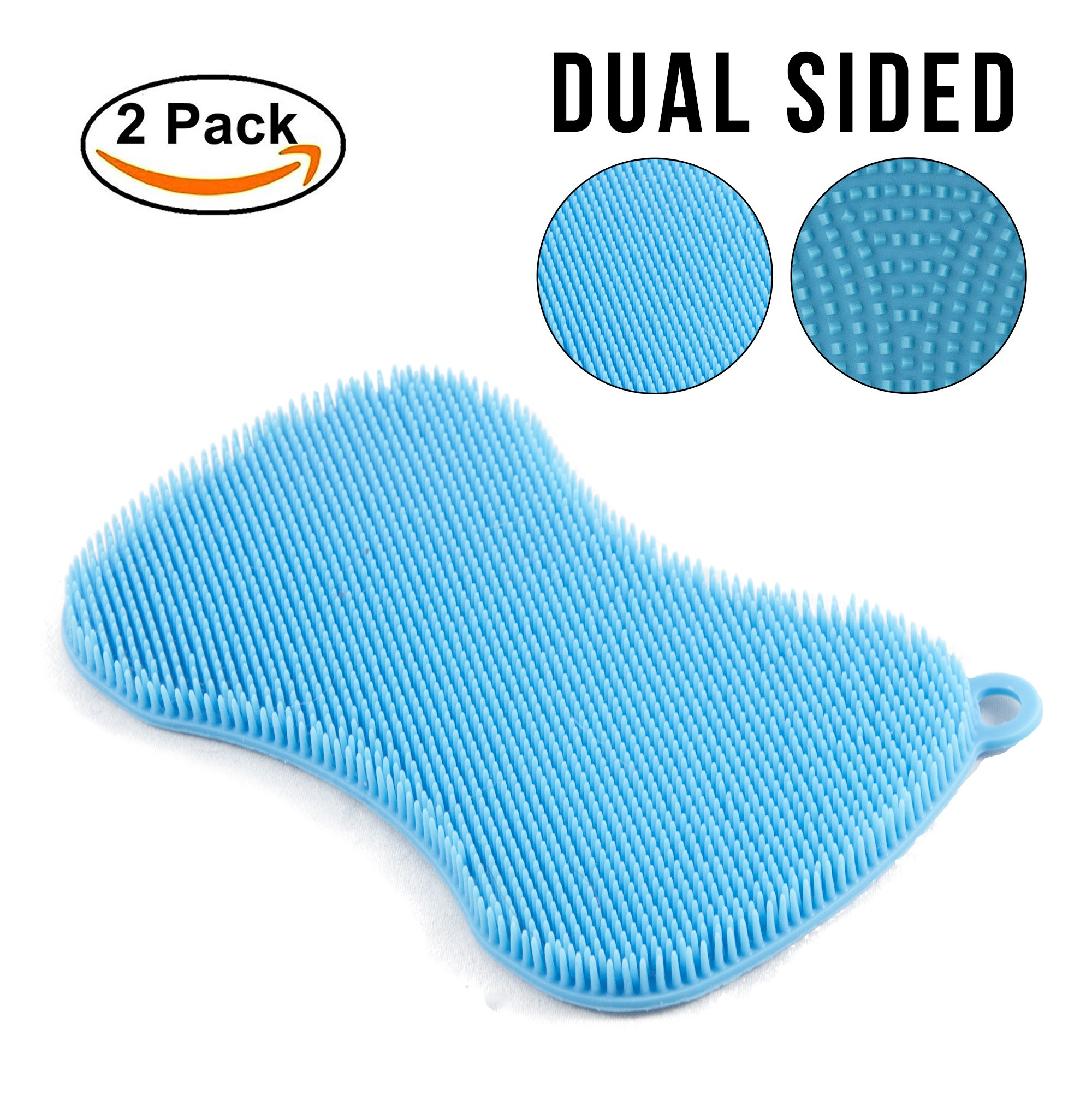 Amazon.com: STK Heavy Duty Silicone Scrubber Sponges (10 Pack ...