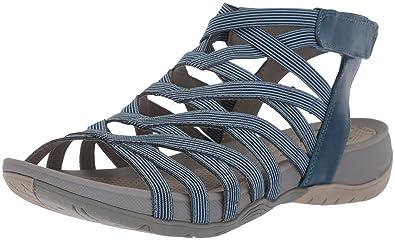 9b5ed583037 BareTraps Womens Sammie Open Toe Casual Ankle Strap Sandals