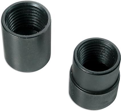 Juego de extracci/ón de tuercas de rueda antirrobo para tuercas de rueda extractor de tornillos A//B//C//R//M clase 12 unidades