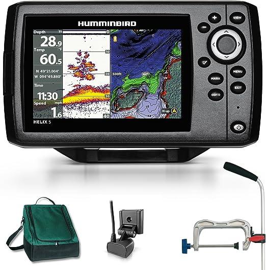 Humminbird Helix 5 chrip GPS G2 Echolot portátil profesional ...