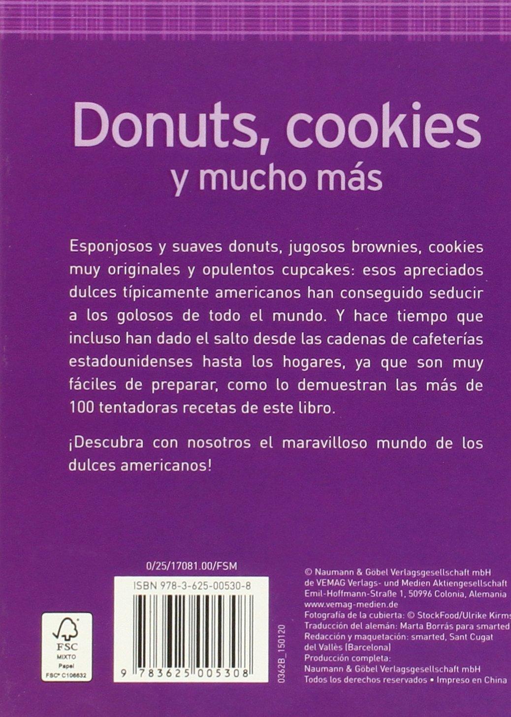 Donuts, Cookies Y Mucho Mas (Minilibros de cocina): VARIOS: 9783625005308: Amazon.com: Books
