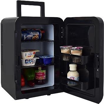 Gino Gelati GG-57W-18L BL Cool - Mini frigorífico 2 en 1 con ...