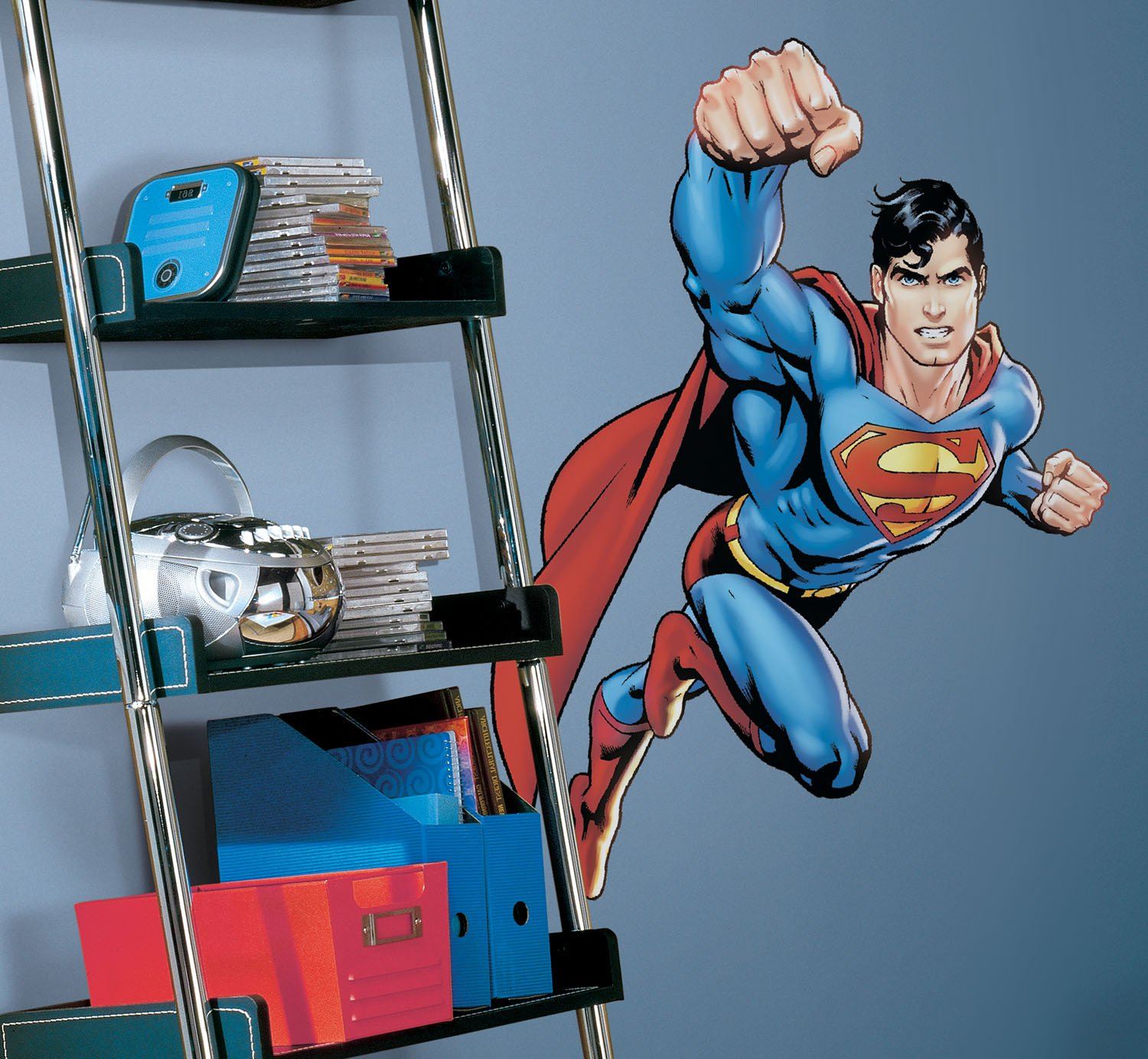 DC Comics ''Superman'' Day of Doom Wall Decal Cutout 26.5''x41''