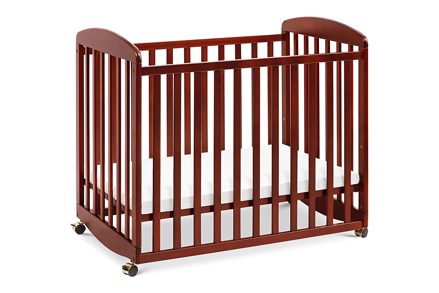 DaVinci Alpha Mini Rocking Crib, Rich Cherry M0598C