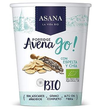 Porridge de avena y espelta con canela y chía 55gr ASANA ...