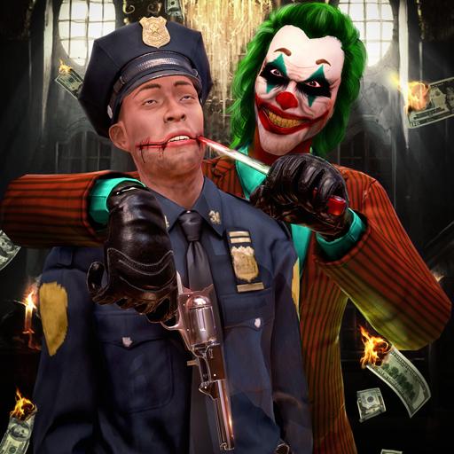Auto City Halloween 2019 (Sins Of Psychopath Clown Bank Heist : Sociopath Joker Gangster Halloween)