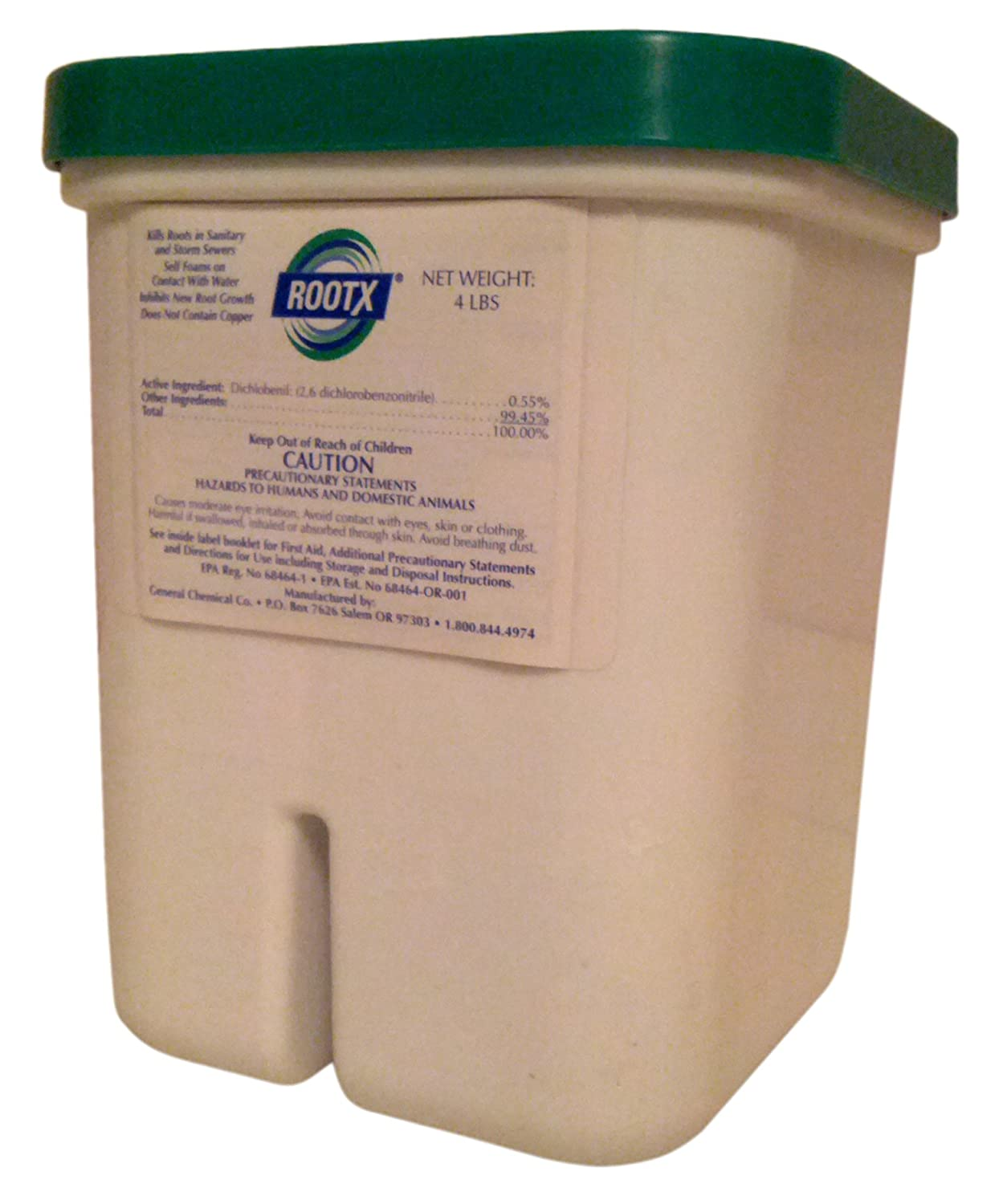 ROOTX - The Root Intrusion Solution - 4 Pound Container General Chemical Co RootX 4lb