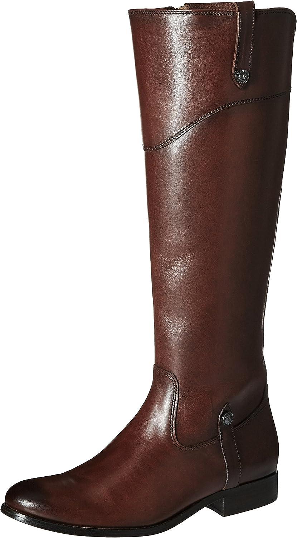 FRYE Womens Melissa Tab Tall Riding Boot