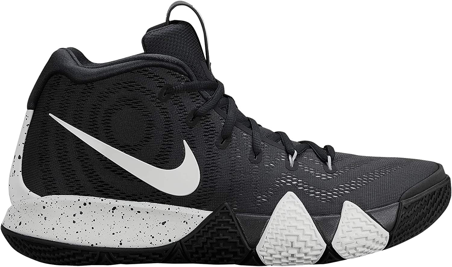 Nike Mens Kyrie 4 TB Basketball Shoes (10 D(M) US) 黒/白い