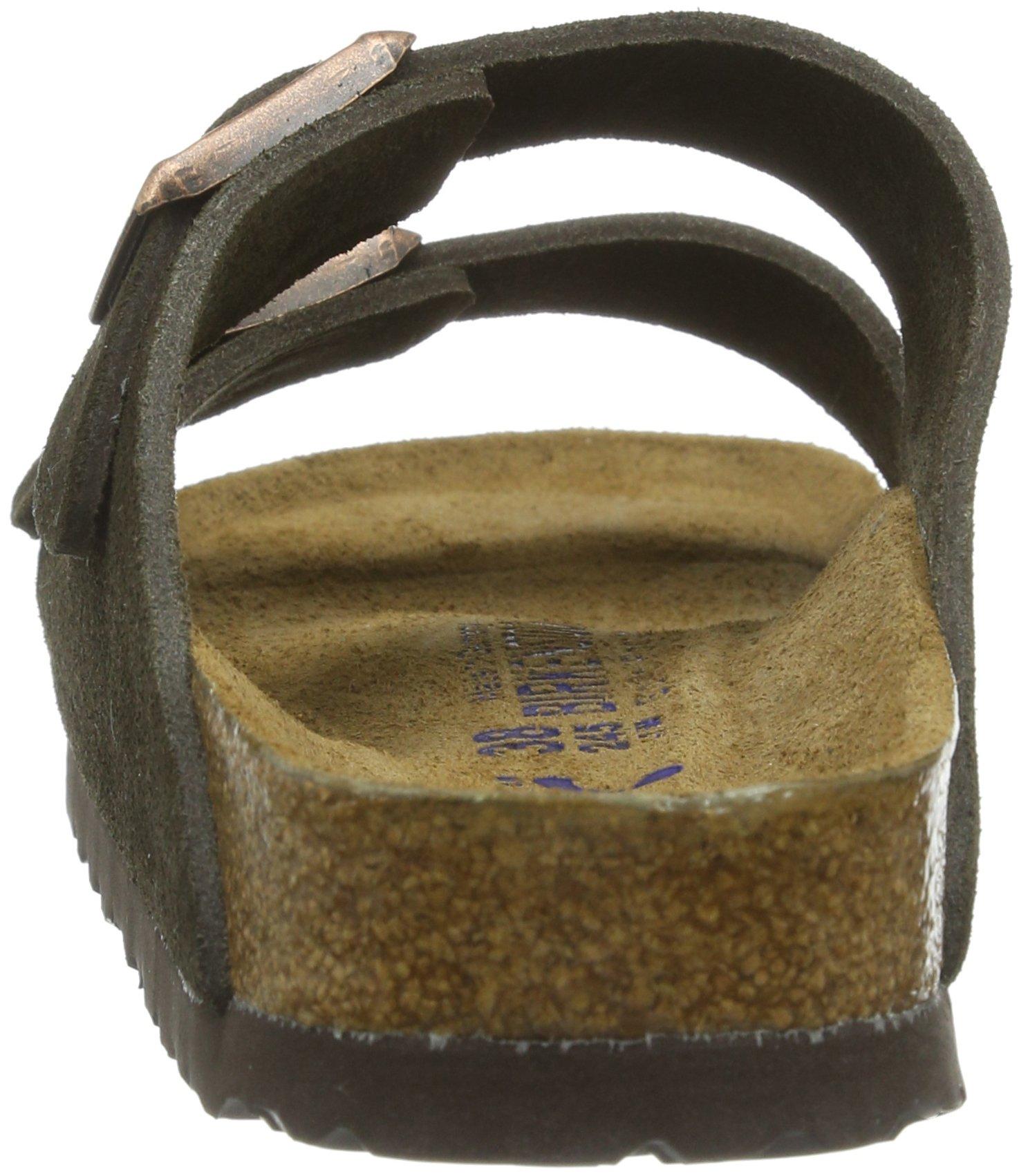 Birkenstock Women´s Arizona Mocha Suede Sandals 37 N EU N 951313 by Birkenstock (Image #2)