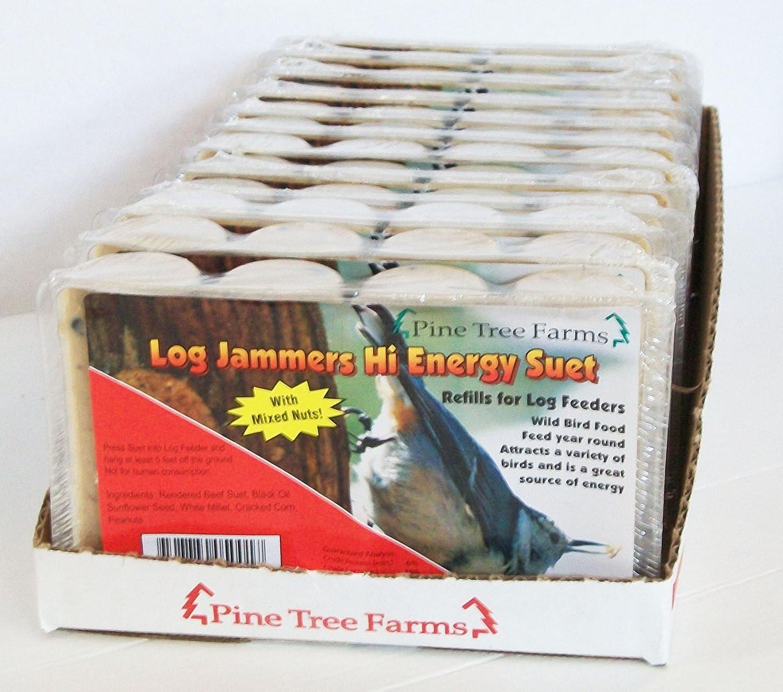 Pine Tree 5001 Log Jammer High Energy Suet Plug
