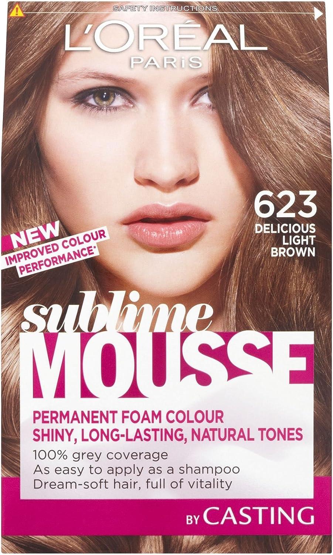 3 x l oreal paris Sublime Mousse permanente espuma color 623 ...