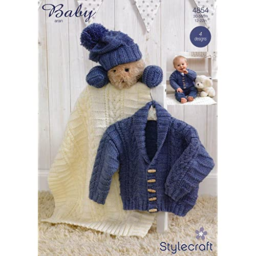Baby Aran Knitting Patterns Amazon