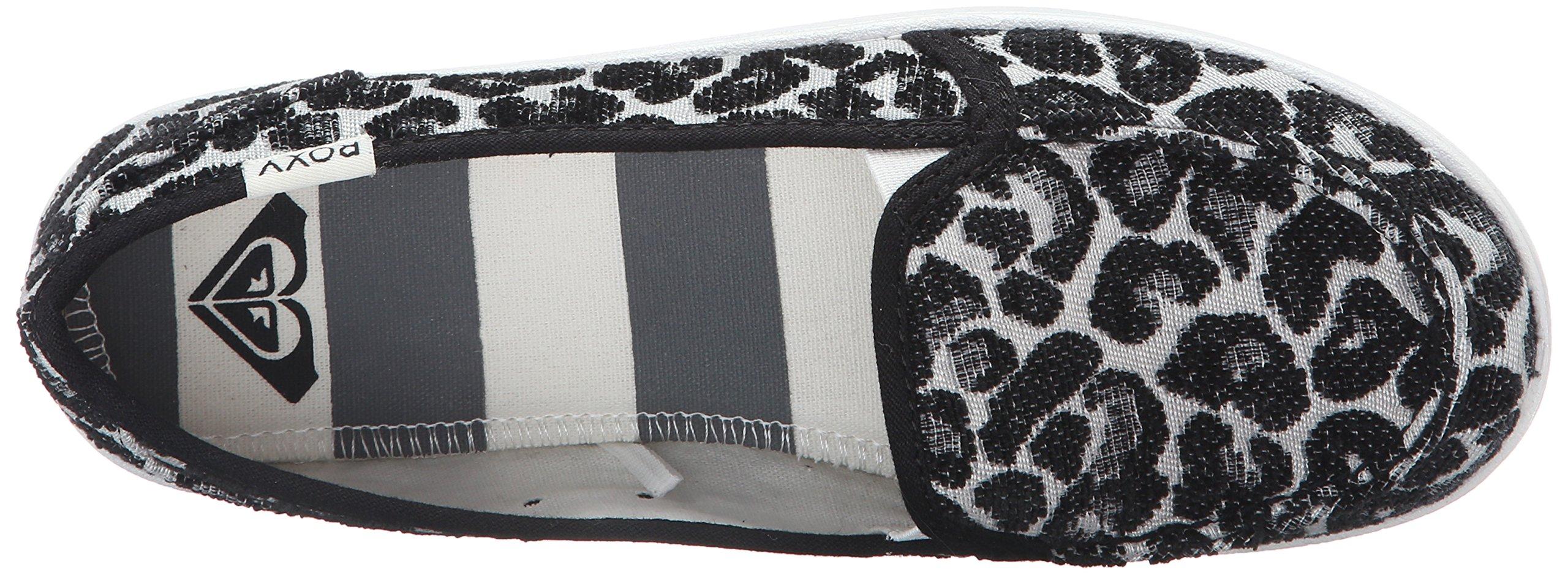 Roxy Women's Lido Iii Slip-on Shoes Flat, Black/Black/Dark Grey, 7 M US by Roxy (Image #8)