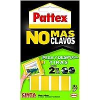 Pattex Dubbelzijdige Tape aan Strips Geen nagels repareren verwijderbare 10 strips
