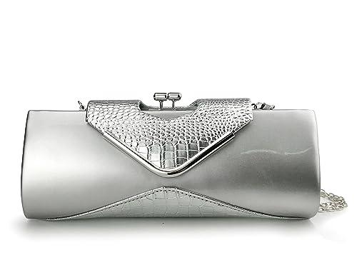 Brand Alligator Stripe Evening Clutch Bags for Women 2018 Black Bag and Purses Mini Female Handbags Coin Pocket
