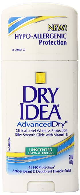 Amazoncom Dry Idea Advanced Dry Invisible Solid Unscented 26