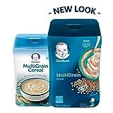 Gerber Baby Cereal Multigrain Baby Cereal, 16 Ounce