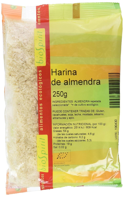 Biospirit Harina de Almendra de Cultivo Ecológico - 250 gr: Amazon.es: Alimentación y bebidas