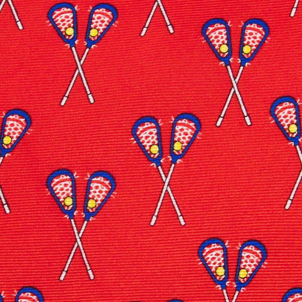 Lacrosse Tie By Alynn Novelty In Silk