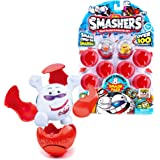 Zuru Smashers, Smash Ball Football Theme, Sports Collectables Toy (8 pack)