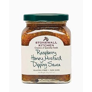Stonewall Kitchen Raspberry Honey Mustard Dipping Sauce, 12.5 oz
