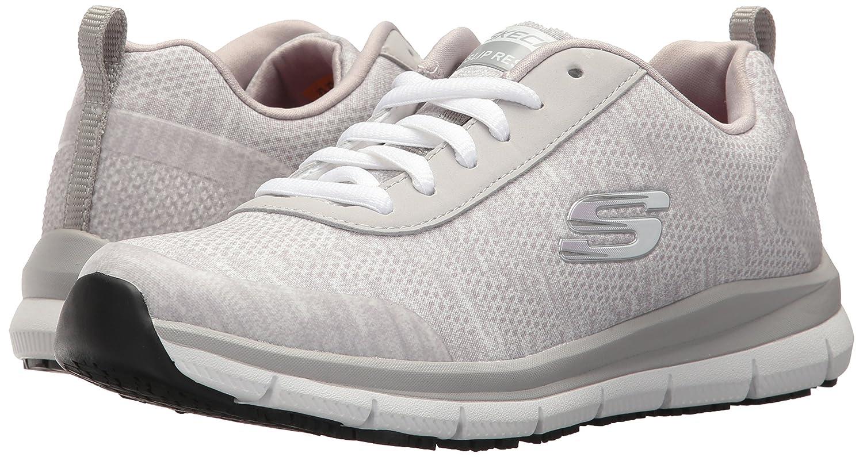 Skechers Women's Comfort Flex HC Pro SR Health 8 Care Service Shoe B072Q213G8 8 Health B(M) US|Light Grey 8a07b0