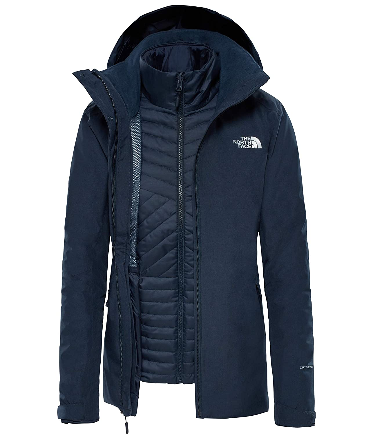 Impermeabile Donna | Inlux Insulated Jacket Urban Navy | The North Face