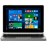 Medion Akoya E1239T MD 60194 25,6 cm (10,1 Zoll Full HD Display) 2in1 Tablet-PC (Intel Atom x5-Z8350, 2GB DDR3 RAM, 64GB Flash-Speicher, Intel HD-Grafik, Win 10 Home) silber