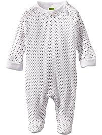 Kushies Unisex-Baby Newborn Everyday Mocha Layette Sleeper