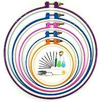 Aros de bordado, Wartoon 5 piezas de aro