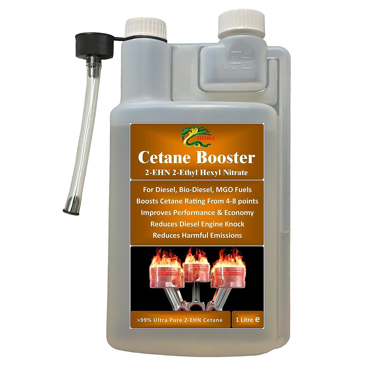HYDRA 2 EHN 99% 2 etilhexilo combustible de nitrato de cetano Booster 1L trata hasta 1000L Hydra International Ltd
