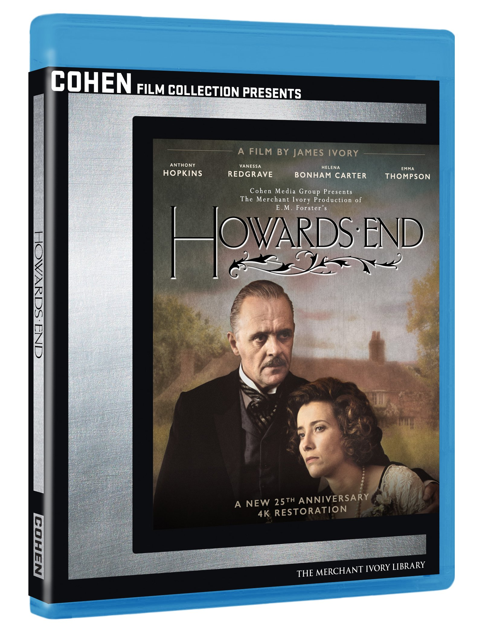 Blu-ray : Howards End (AC-3, Widescreen, , Dolby, 2 Pack)