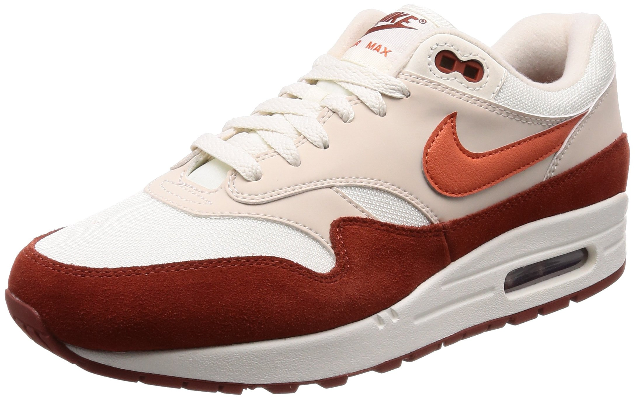 huge discount 43542 c5c1a Galleon - Nike Air Max 1 Sail Vintage Coral-Mars Stone (12 D(M) US)