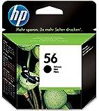 HP 56 Cartouche d'Encre Noir Authentique (C6656AE)