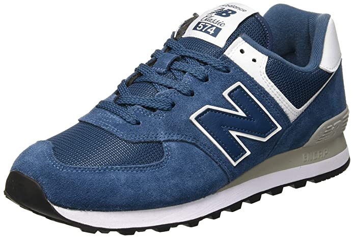 New Balance Ml574esm Sneakers Herren Blau (Sea Smoke White)