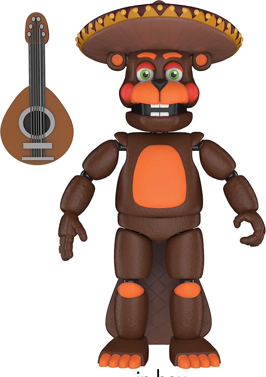Pizza Simulateur El PUCE 5-inch Action Figure CINQ NIGHTS AT FREDDY/'S