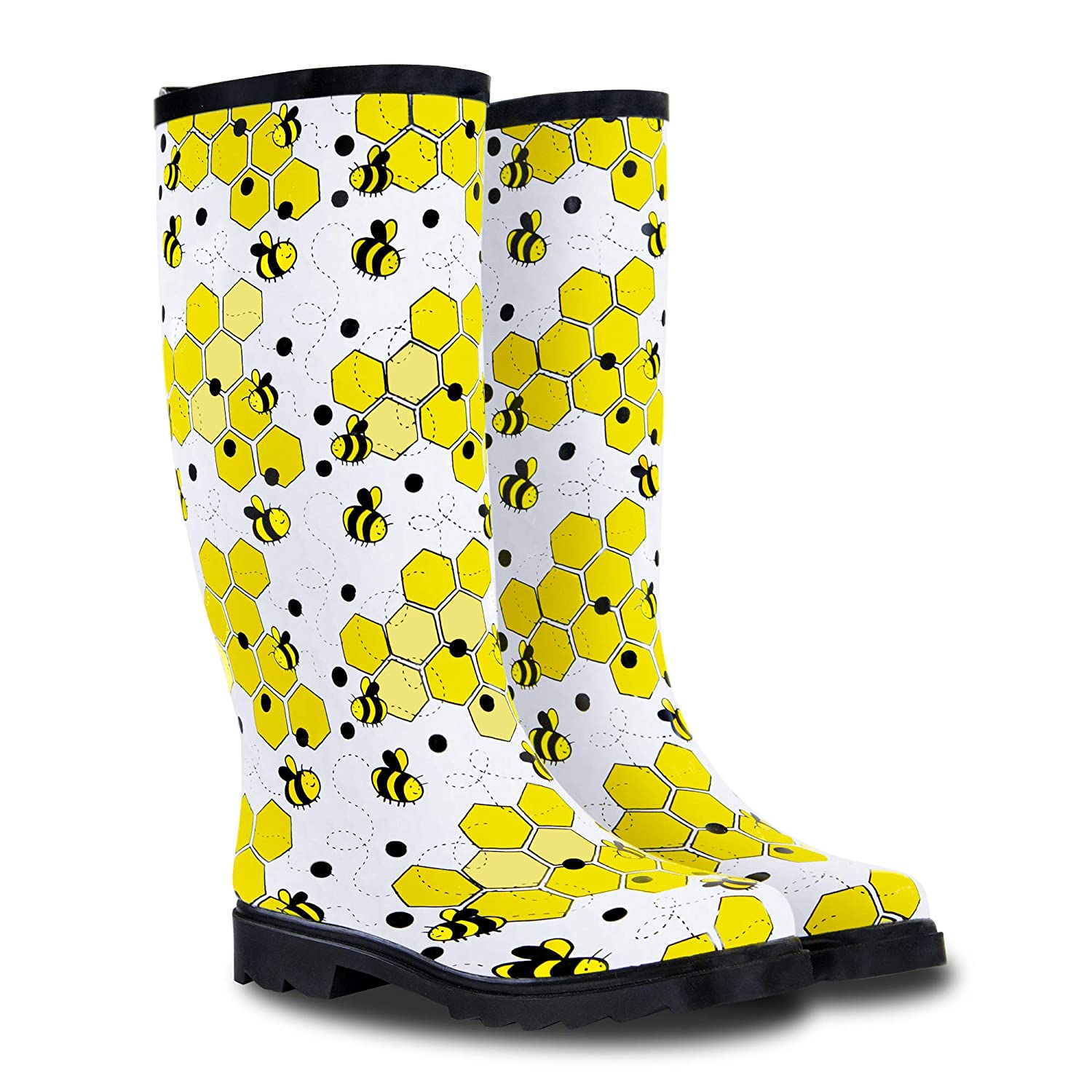 Patterned Rain Boots New Design Inspiration