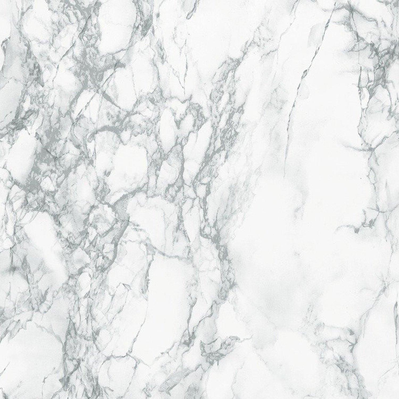 DC Fix d-c-fix Self-Adhesive Film, Grey Marble (35'' x 10')