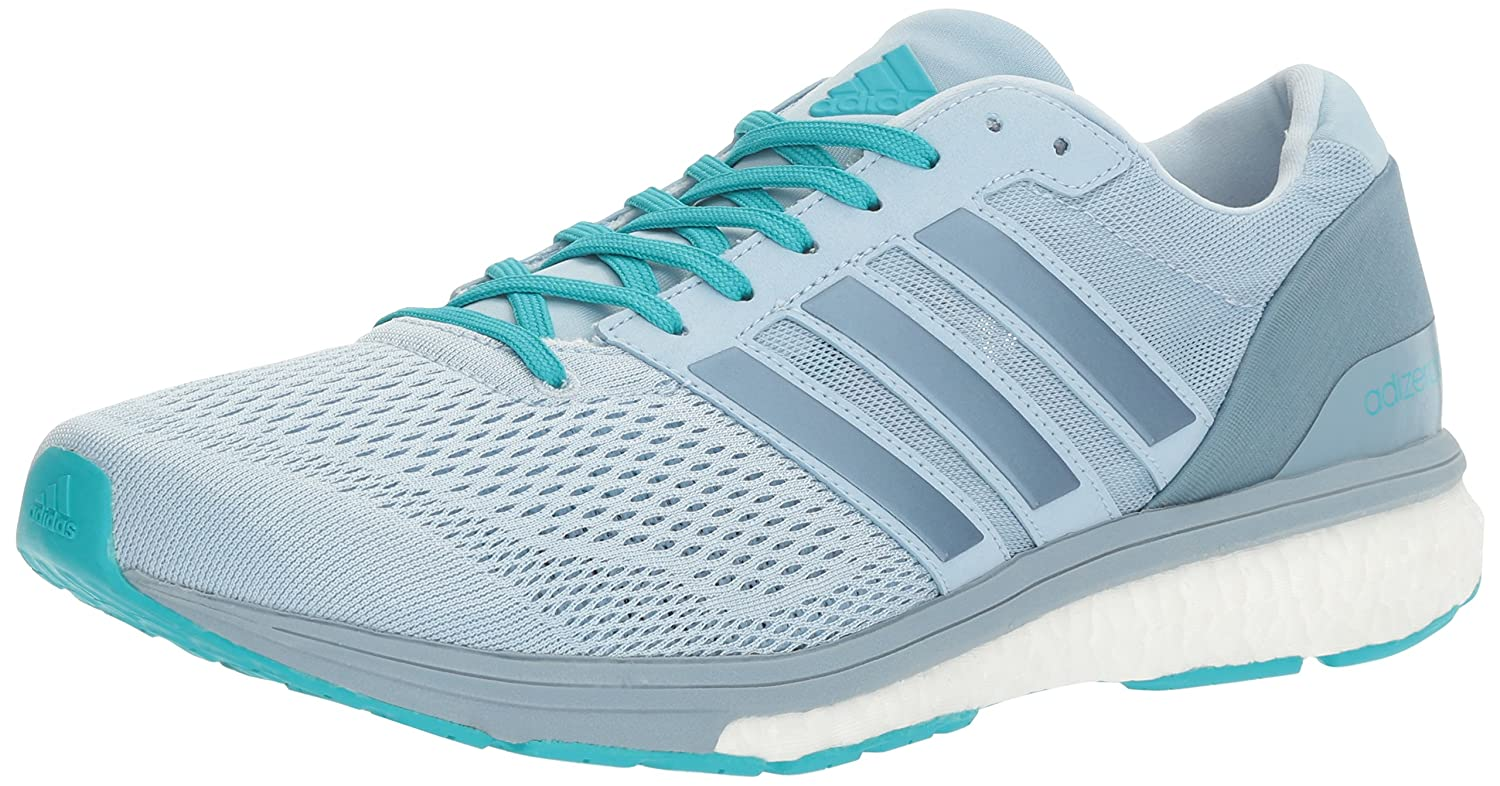 adidas Women's Adizero Boston 6 W Running Shoe B01K512ZBA 6 B(M) US|Easy Blue Tactile Blue Energy Blue S