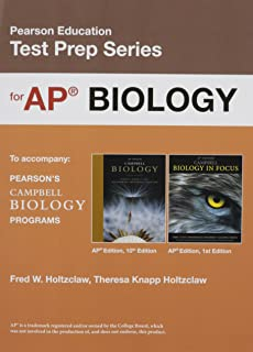Amazon cliffsnotes ap biology fourth edition 9781118127995 preparing for the biology ap exam school edition pearson education test prep fandeluxe Choice Image