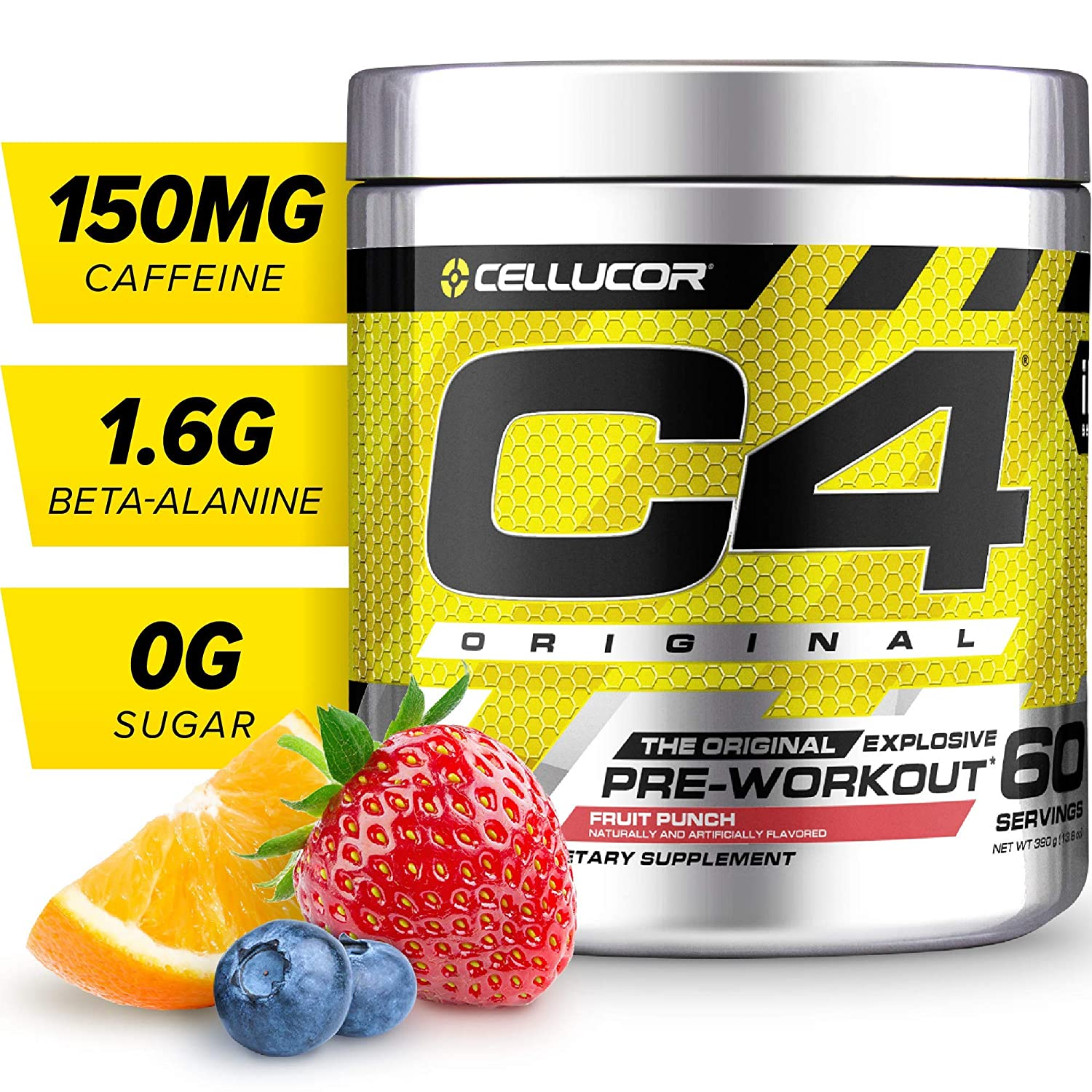 4. Cellucor C4 Pre Workout Supplement