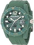 Haurex Italy Herren-Armbanduhr XL Caimano Analog Kautschuk V1354UCV