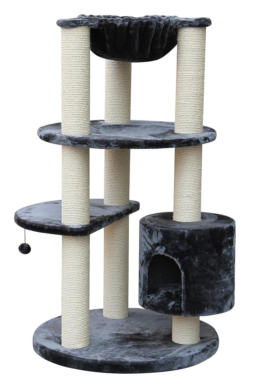 xxl kratzbaum maine coon colosseum xl grau speziell f r gro e und schwere katzen g nstig bestellen. Black Bedroom Furniture Sets. Home Design Ideas