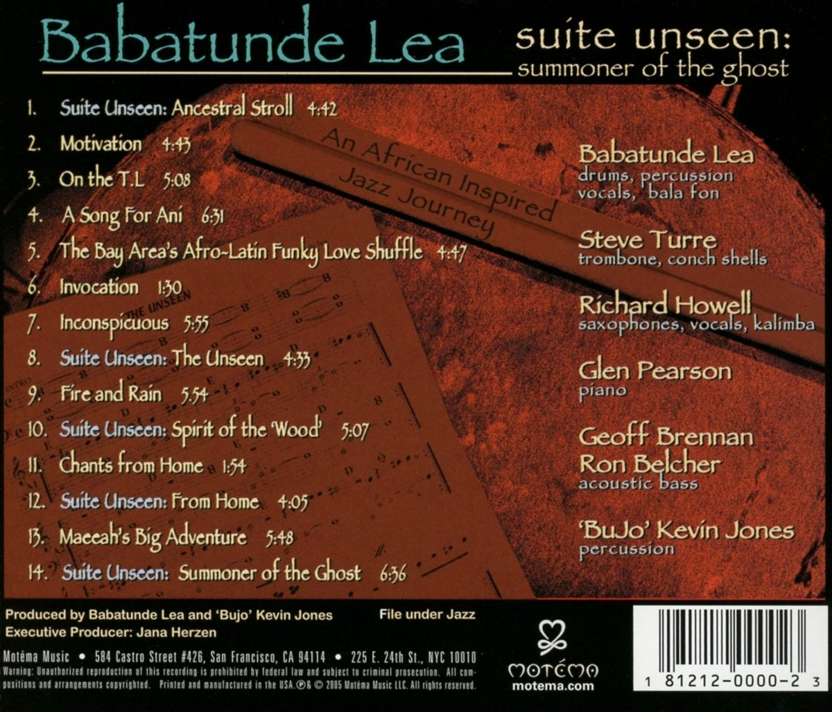 Babatunde Lea - Suite Unseen: Summoner of the Ghost - Amazon.com Music
