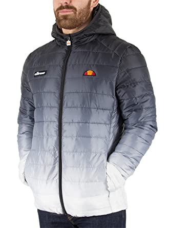 Ellesse Lombardy Fade Jacket AnthraciteWhite