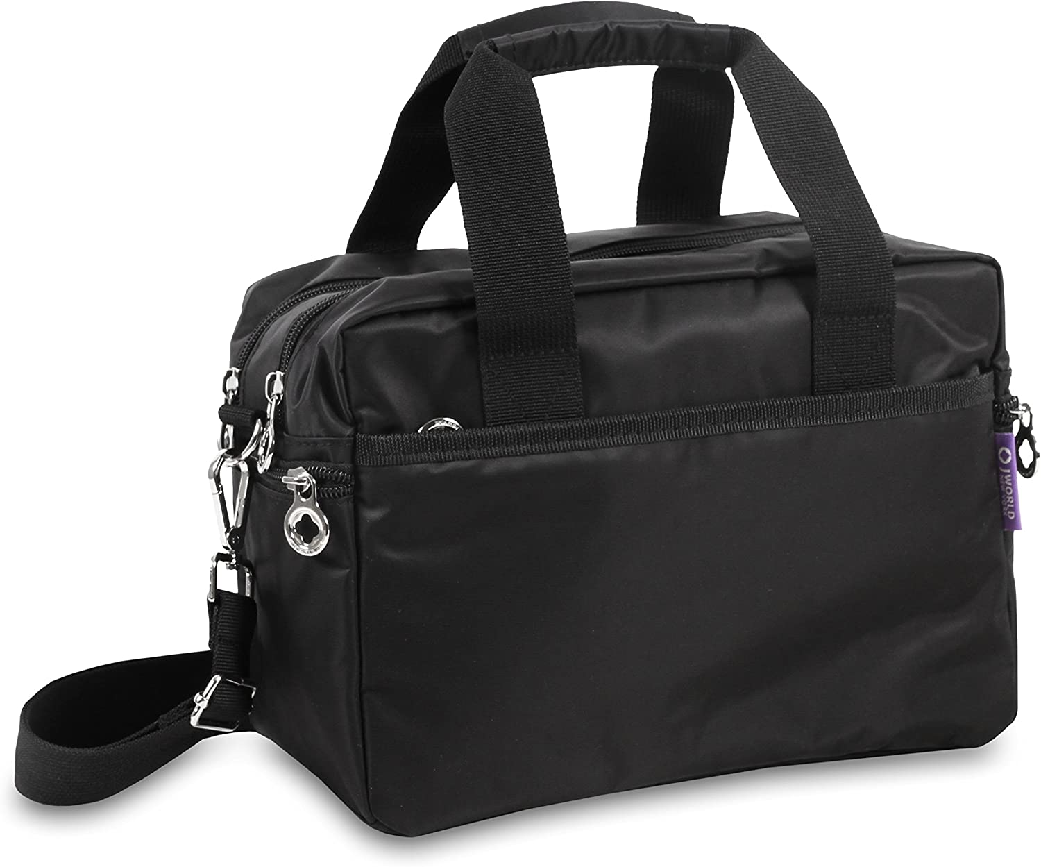 J World New York Aby Bag Travel Tote, Black, One Size