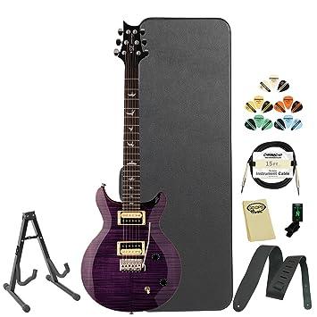 GoDpsMusic jb-prs-csat-kit-2 PRS SE Carlos Santana firma morado